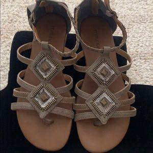 Maurices Gladiator Embellished Sandals